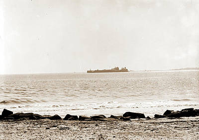 Fort Sumter From Sullivans Island, Charleston Poster