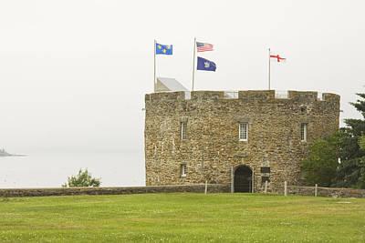 Fort William Henry Bristol Maine Poster