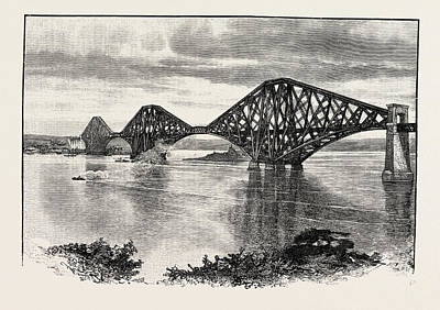 Forth Bridge, From The South-west. The Forth Bridge Poster