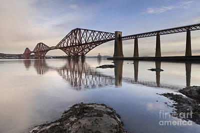 Forth Bridge Poster by Rod McLean