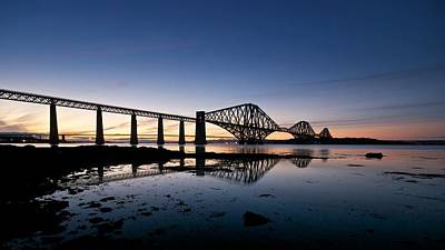 Poster featuring the photograph Forth Rail Bridge by Stephen Taylor