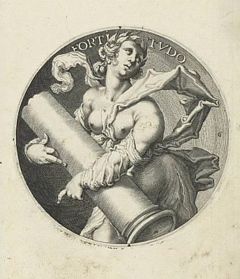 Fortitude, Jacob De Gheyn II Poster by Jacob De Gheyn (ii)
