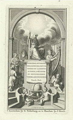 Fortitude, Justice And Poetry, Jan Caspar Philips Poster by Quint Lox