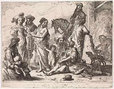 Fortuneteller, Cornelis De Wael Poster by Cornelis De Wael