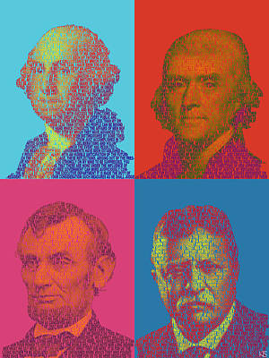 Founding Fathers Poster by Kyle Slavin