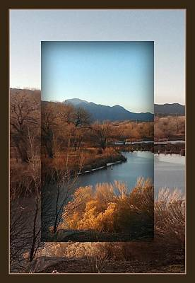 Poster featuring the photograph Fountain Creek To Pikes Peak by Michelle Frizzell-Thompson