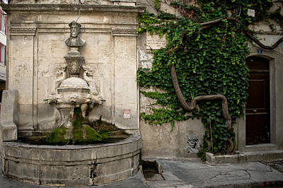 Fountain Nostradamus Poster
