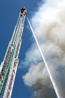 Four Alarm Blaze 001 Poster