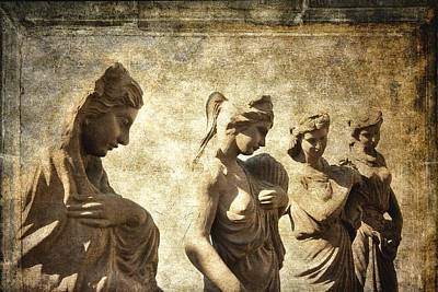 Four Women Of Antiquity Poster