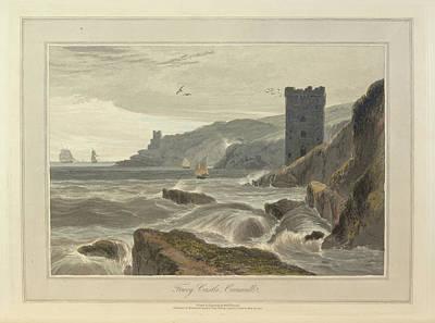 Fowey Castle Poster
