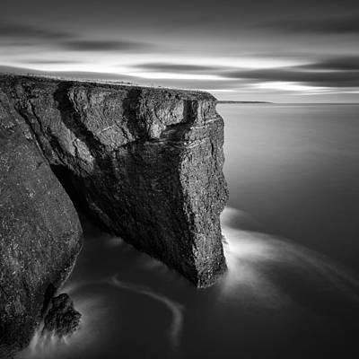 Fowlsheugh Cliffs Poster by Dave Bowman