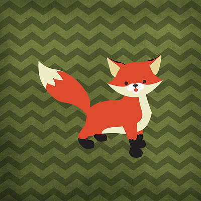 Fox 1 Poster by Tamara Robinson
