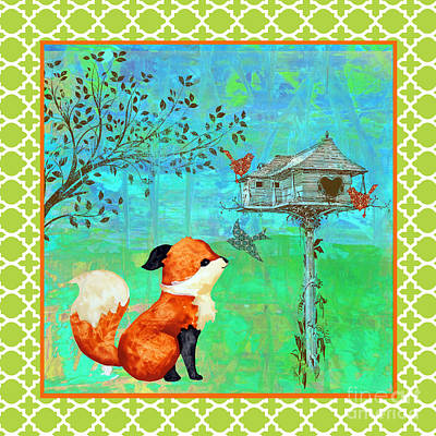 Fox-a Poster by Jean Plout