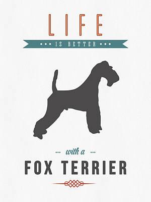 Fox Terrier 01 Poster
