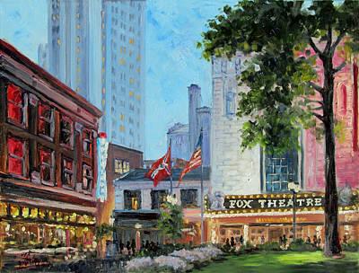 Fox Theatre Saint Louis Grand Boulevard Poster