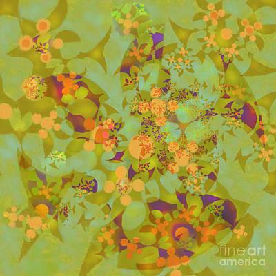 Fractal Blossom 2 Poster by Ursula Freer