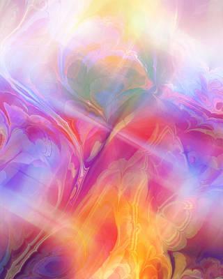 Fractal Dream Poster by Ann Croon
