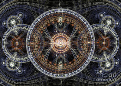 Fractal Inception Poster by Martin Capek