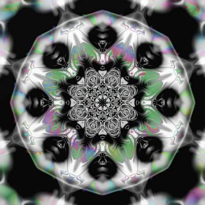 Fractal Kaleidoscope One  Poster