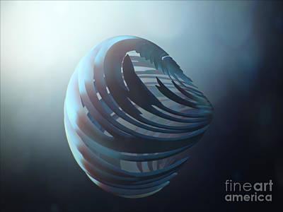Fractal Sphere  Poster