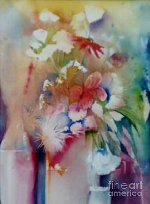 Fragile Flowers Poster by Donna Acheson-Juillet
