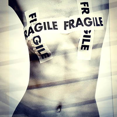 Fragile Poster by Stefania Montolli