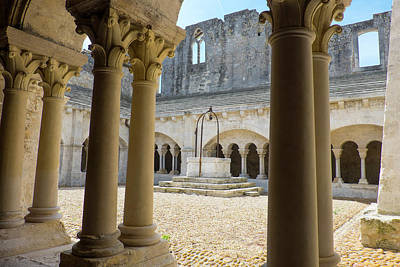 France, Arles, Abbey Of Saint Peter Poster by Emily Wilson