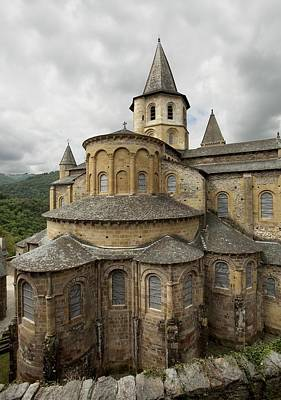 France. Conques. �glise Abbatiale De Poster by Everett