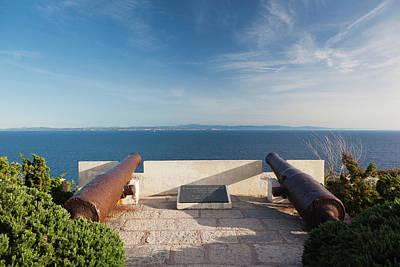 France, Corsica, Bonifacio, Citadel Poster by Walter Bibikow