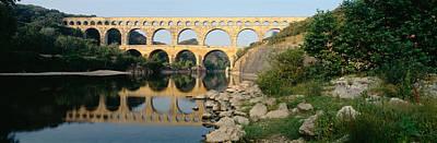 France, Nimes, Pont Du Gard Poster