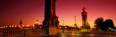France, Paris, Pont Alexandre IIi Poster by Panoramic Images