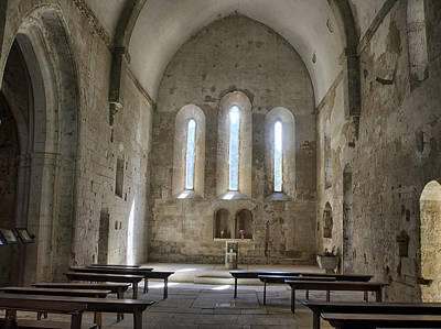 France, Provence, Chapel Of The Small Poster
