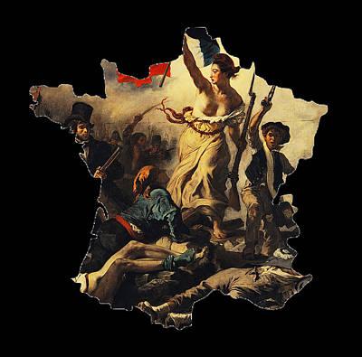 France W/o Corsica Poster