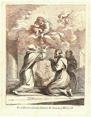 Francesco Bartolozzi Italian, 1727-1815 After Guercino Poster