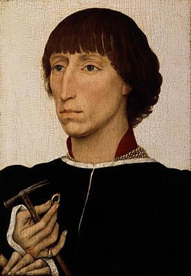 Francesco D Este Poster by Rogier van der Weyden