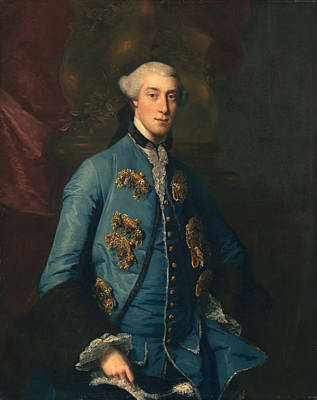 Francis Hastings, Earl Of Huntington Poster by Sir Joshua Reynolds