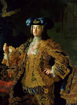 Francis I 1708-65 Holy Roman Emperor And Husband Of Empress Maria Theresa Of Austria 1717-80 Poster by Martin II Mytens or Meytens