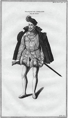 Francis Of Lorraine II (1519-1563) Poster by Granger