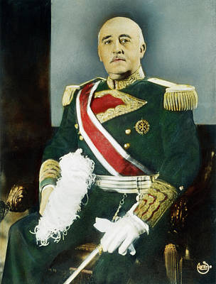 Francisco Franco (1892-1975) Poster
