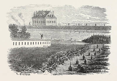 Franco-prussian War Obstruction Of Individual Gates Poster