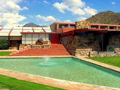 Frank Lloyd Wright - Taliesin West Poster