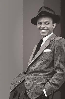 Frank Sinatra Poster by Daniel Hagerman