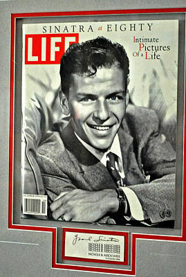 Frank Sinatra Life Cover Poster