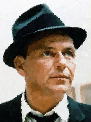 Frank Sinatra Portrait Poster