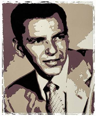 Frank Sinatra Poster Art Poster by Florian Rodarte