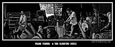 Frank Turner Poster by Thomas Chorbak