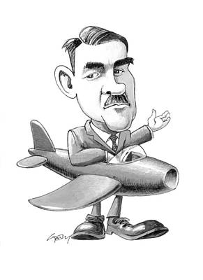 Frank Whittle, Caricature Poster
