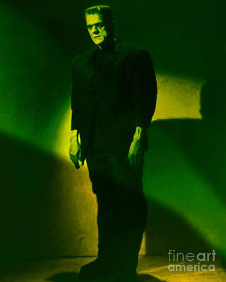 Frankenstein 20130218m80 Poster by Wingsdomain Art and Photography