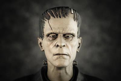 Frankenstein's Monster - Boris Karloff Poster by Marco Oliveira