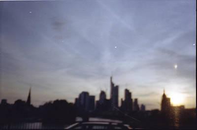 Frankfurter Skyline Poster
